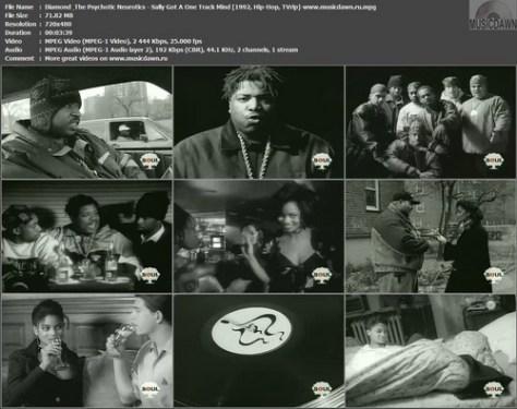 Diamond & The Psychotic Neurotics - Sally Got A One Track Mind (1992, Hip-Hop, TVrip)