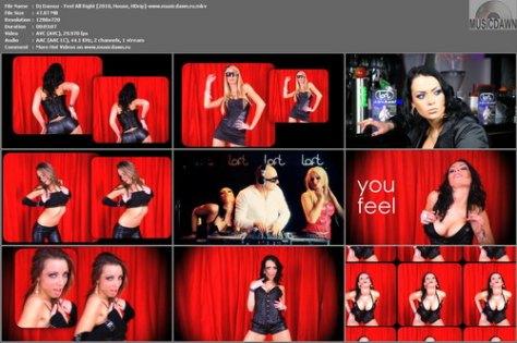Dj Damuz – Feel All Right [2010, HD 720p] Music Video (Re:Up)