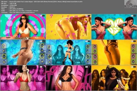Drums Of London Feat. Louise Bagan – Girls Girls Girls (Wawa Remix) [2012, HD 1080p] Music Video