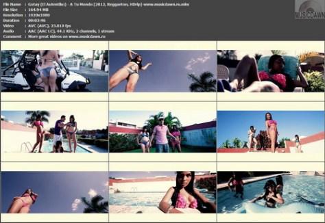 Gotay ''El Autentiko'' - A Tu Mondo (2012, Reggaeton, HD 1080p)