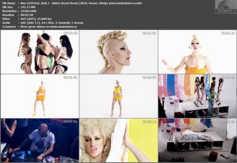 Max Zotti feat. Ania J - Shiver Boom Boom (2010, House, HDrip)