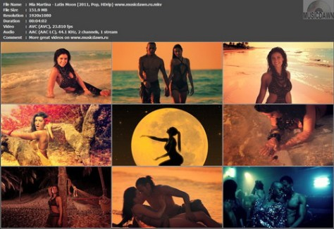 Mia Martina - Latin Moon (2011, Pop, HD 1080p)