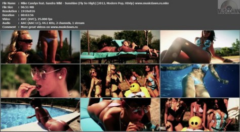 Mike Candys feat. Sandra Wild – Sunshine (Fly So High) [2012, HD 1080p] Music Video