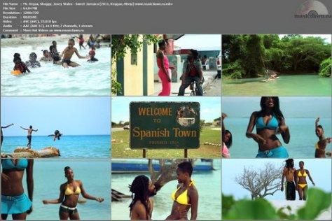 Mr. Vegas, Shaggy, Josey Wales - Sweet Jamaica (2011, Reggae, HDrip)