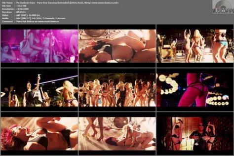 My Darkest Days feat. Zakk Wylde, Chad Kroeger & Ludacris - Porn Star Dancing (Extended Version) (2010, Rock, HDrip)
