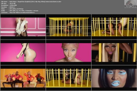 Nicki Minaj - Stupid Hoe (2012, Hip-Hop, HD 1080p)