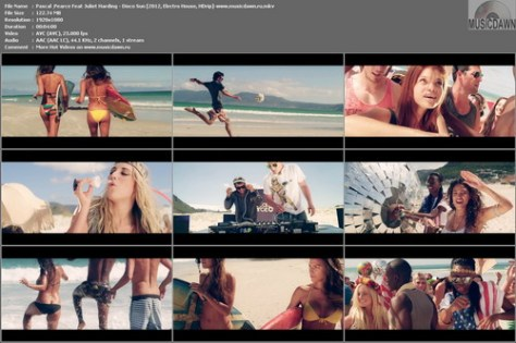 Pascal & Pearce Feat Juliet Harding – Disco Sun [2012, HD 1080p] Music Video