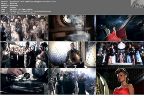 Serge Devant – Ghost [2010, HDrip 1080p] Music Video (Re:Up)