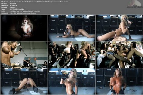Sonic Syndicate - Turn It Up (Uncensored) (2010, Metal, HDrip)