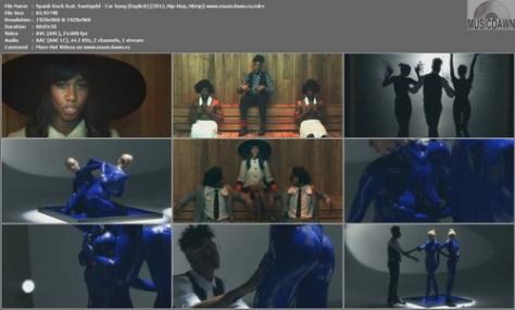 Spank Rock feat. Santigold - Car Song (Explicit) {2012, Hip-Hop, HD 1080p}