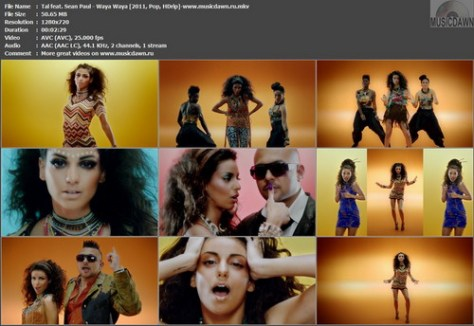 Tal feat. Sean Paul - Waya Waya (2011, Pop, HD 720p)