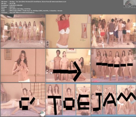 The BPA Featuring David Byrne & Dizzee Rascal – Toe Jam [2008, DVDrip] Music Video (Re:Up)