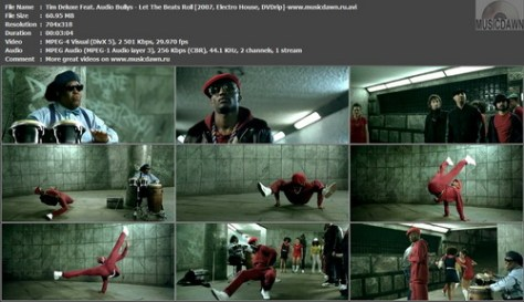 Tim Deluxe Feat. Audio Bullys – Let The Beats Roll [2007, DVDrip] Music Video (Re:Up)