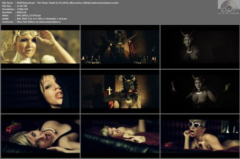 Well Hung Heart – The Music Made Do It (Uncensored) [2010, HDrip] Music Video