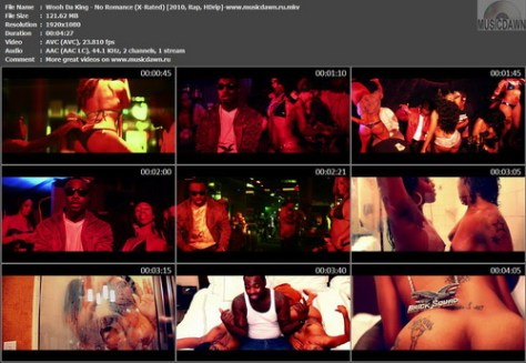 Wooh Da King - No Romance (X-Rated Version) {2010, Rap, HDrip}