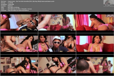 Yung Luciano - Like You Stole Somethin (2012, Hip-Hop, HD 1080p)