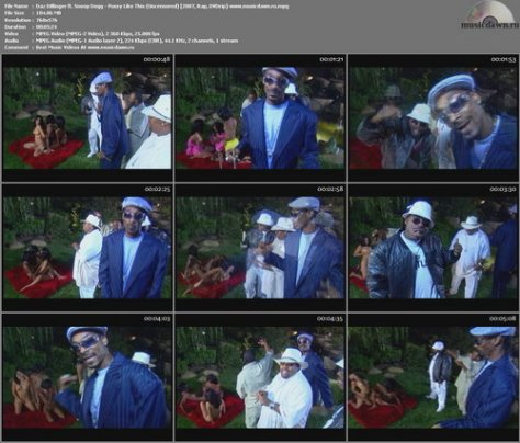 Daz Dillinger ft. Snoop Dogg – Pussy Like This (Uncensored) [2007, DVDrip] Music Video (Re:Up)