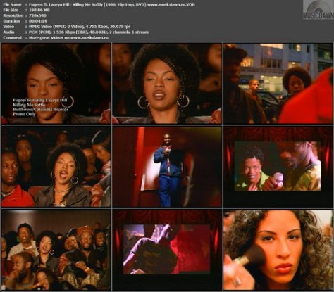 Fugees ft. Lauryn Hill - Killing Me Softly (1996, Hip-Hop, DVD)