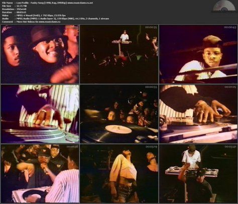 Low Profile – Funky Song [1990, DVDRip] Music Video (Re:Up)