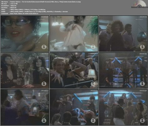 Pointer Sisters – I'm So Excited (Uncensored Bath Scene) [1982, TVrip] Music Video (Re:Up)