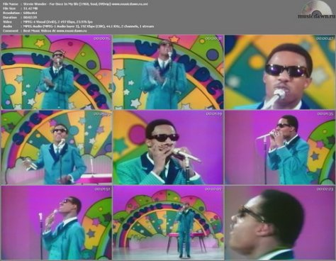 Stevie Wonder - For Once In My life (Live 1968, Soul, DVDrip)