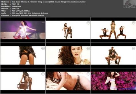 Tom Boxer & Morena ft. J Warner - Deep In Love (2011, House, HDrip)
