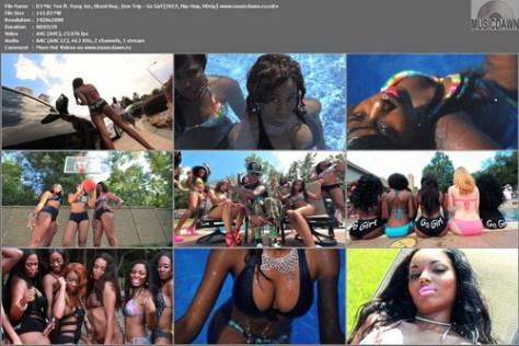 DJ Mic Tee ft. Yung Joc, Skool Boy, & Don Trip - Go Girl (2012, Hip-Hop, HD 1080p)