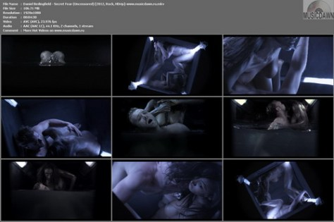 Daniel Bedingfield – Secret Fear (Uncensored) [2012, HD 1080p] Music Video