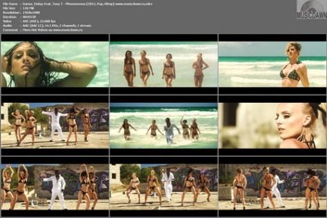 Darius & Finlay Feat. Tony T - Phenomenon (2012, Pop, HD 1080p)