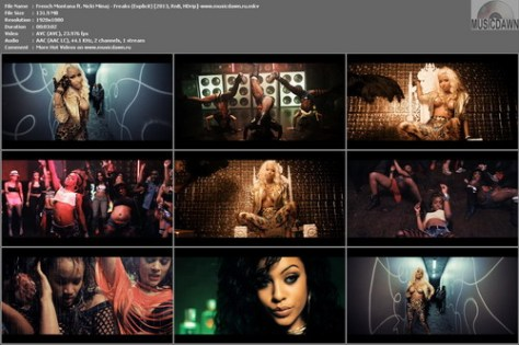 French Montana ft. Nicki Minaj – Freaks (Explicit) [2013, HD 1080p] Music Video