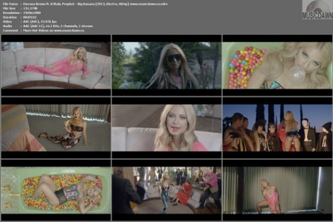 Havana Brown ft. R3hab, Prophet - Big Banana [2013, Electro, HD 1080p]