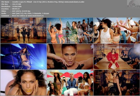 Jennifer Lopez ft. Pitbull - Live It Up [2013, Modern Pop, HD 1080p]