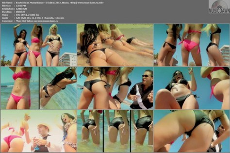 KooFee feat. Manu Blanco – El Culito (2 Versions) [2012, HD 720p] Music Video