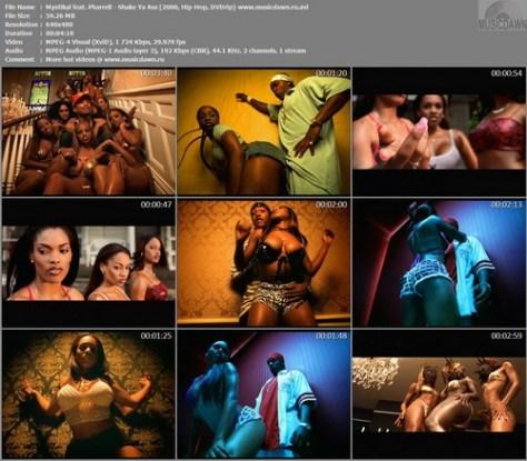 Mystikal feat. Pharrell - Shake Ya Ass (2000, Hip-Hop, DVDrip)