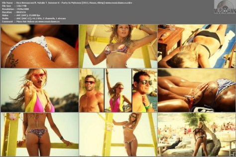 Rico Bernasconi ft. Natalie T & Sommer K – Party In Mykonos [2012, HD 1080p] Music Video