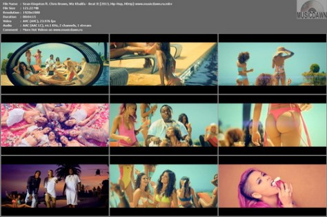 Sean Kingston ft. Chris Brown, Wiz Khalifa – Beat It [2013, Hip-Hop, HD 1080p] Music Video
