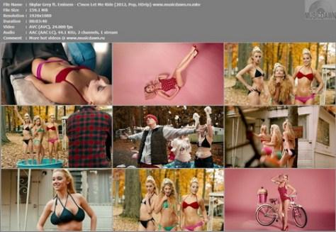 Skylar Grey ft. Eminem - C'mon Let Me Ride [2012, Pop, HD 1080p]