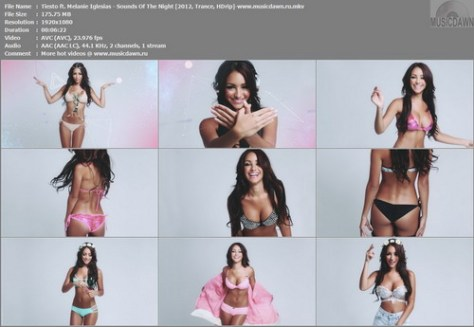 Tiesto ft. Melanie Iglesias – Sounds Of The Night [2012, HD 1080p] Music Video