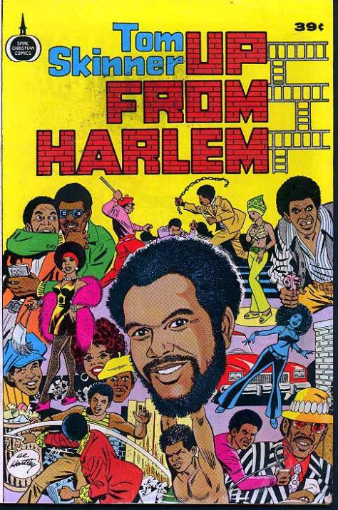 Tom Skinner – Up From Harlem (Blaxploitation Style Comics) '1975 (Re:Up)