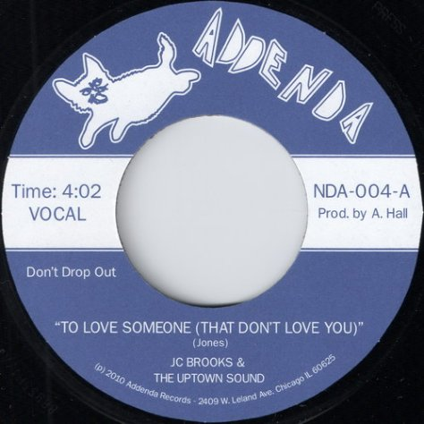 JC Brooks & The Uptown Sound - To Love Someone (That Don't Love You)