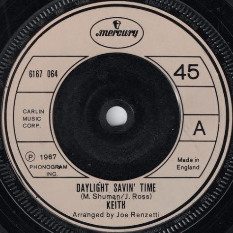 "Keith – Daylight Savin' Time (Mercury) [7""] '1967"