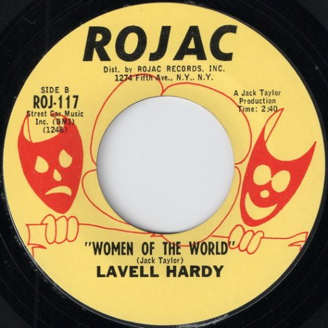 Lavell Hardy - Women Of The World (Rojac)