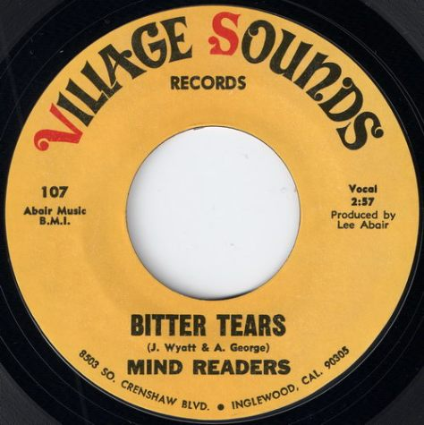 "Mind Readers – Bitter Tears (Village Sounds) [7""]"