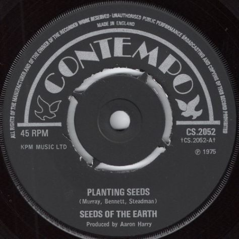Seeds Of The Earth - Planting Seeds (Contempo)