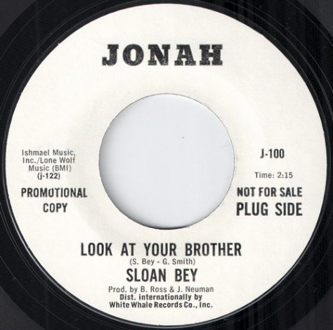 "Sloan Bey – Look at Your Brother (Jonah) [7""]"