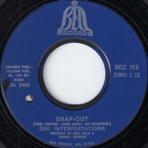 The Interpretations - Snap-Out (Instrumental)