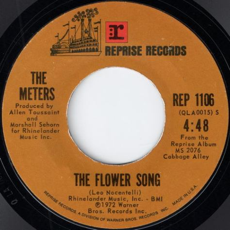 The Meters - The Flower Song (Reprise Records # Rep 1106)