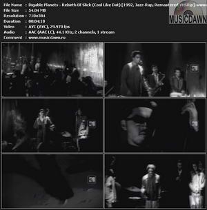 Digable Planets - Rebirth Of Slick (Cool Like Dat) {1992, Jazz-Rap, Remastered VHSRip}