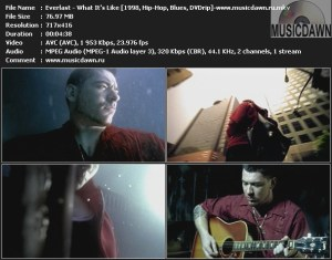 Everlast – What It's Like [1998, DVDrip] Music Video {ReUp}