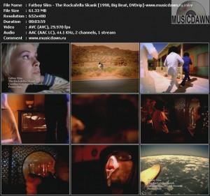 Fatboy Slim - The Rockafella Skank (1998, Big Beat, DVDrip)